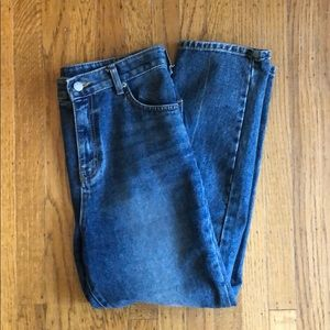 Oak + Fort Blue Denim Jeans